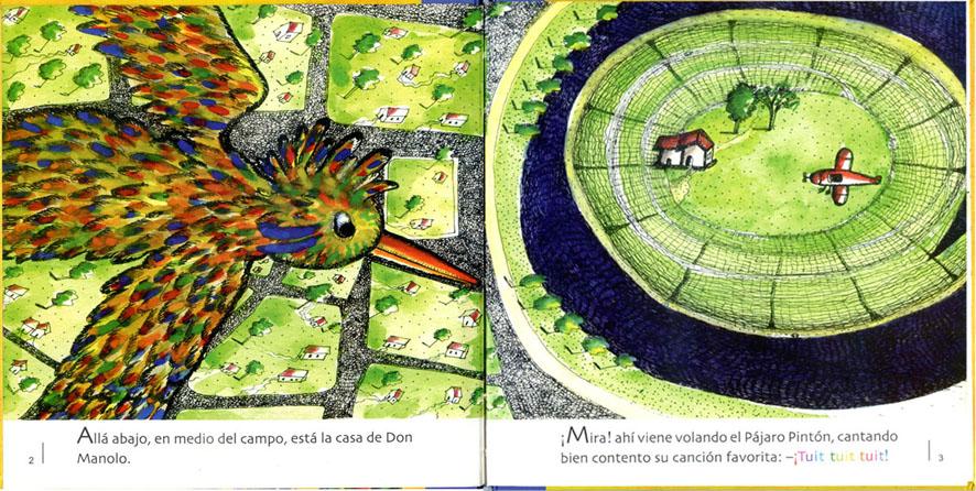 EL PÀJARO PINTÒN Y LA SOPA CON JABÒN