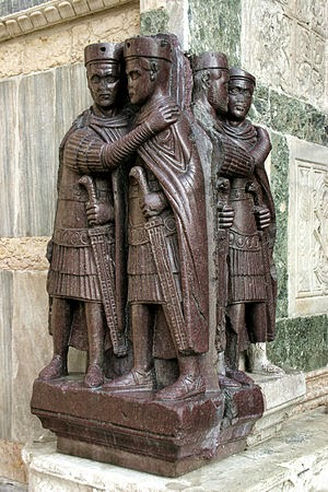 Byzantine Sculpture of the Tetrarchs