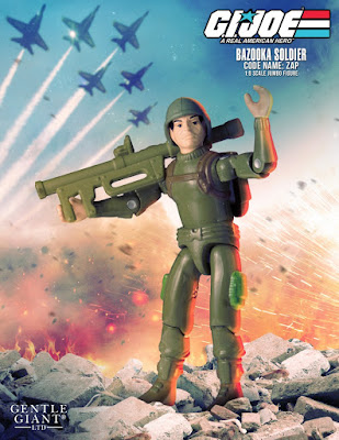 "Zap 12"" Jumbo Vintage G.I. Joe: A Real American Hero Action Figure by Gentle Giant"