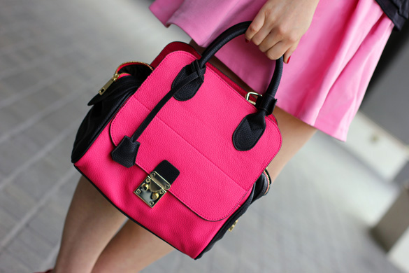 Coquet Hot Pink Handbag