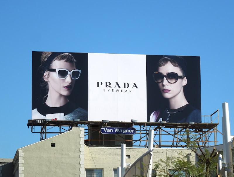 Prada Eyewear SS 2013 billboard