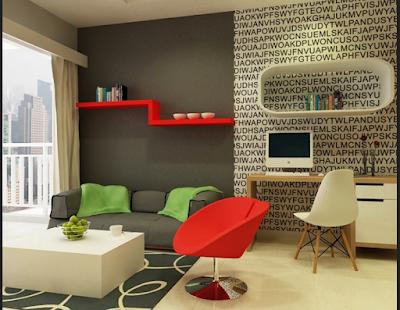 Desain Apartemen Tipe Studio
