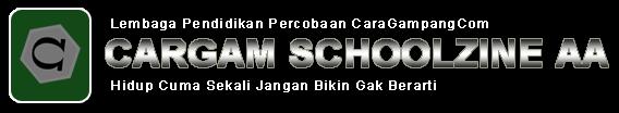 CARGAM SCHOOLZINE