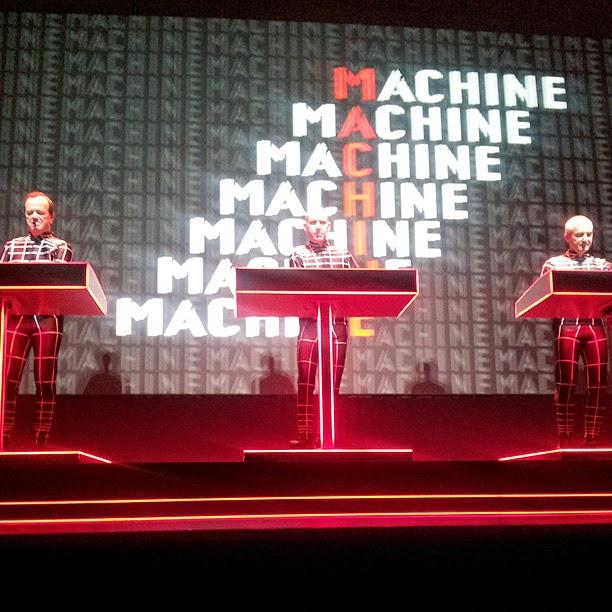 Kraftwerk live @ Kunstsammlung NRW, Düsseldorf, 19 janvier 2013 / photo S. Mazars