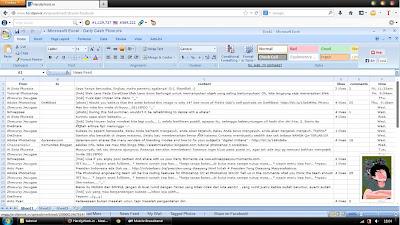 Cara Merubah Tampilan Facebook Menjadi Microsoft Excel