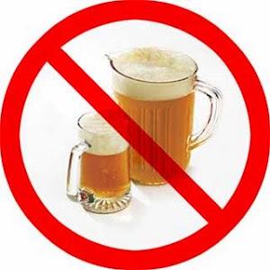 Evitá el alcohol
