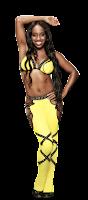 truza oficial de naomi, traje de lucha libre que naomi usa para sus combates en la wwe