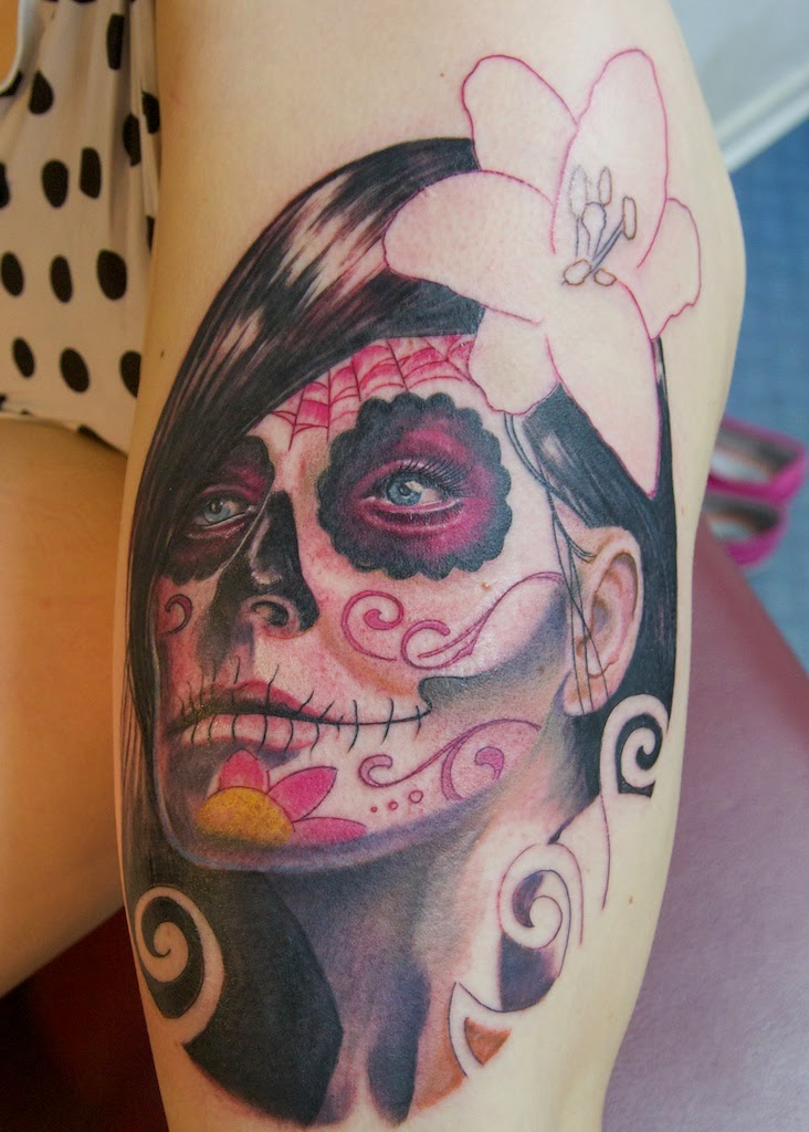 Catrina Tattoos Design