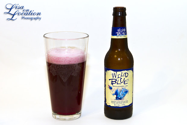 Wild Blue blueberry lager, 365 photo project