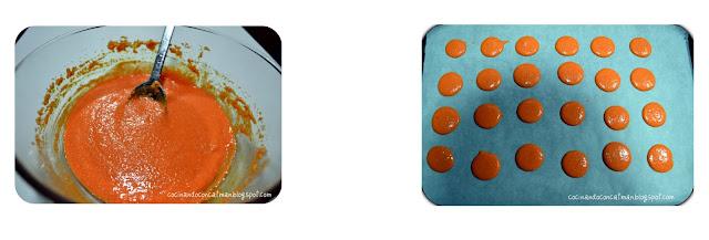 macarons2 Macarons con ganaché de chocolate (paso a paso)