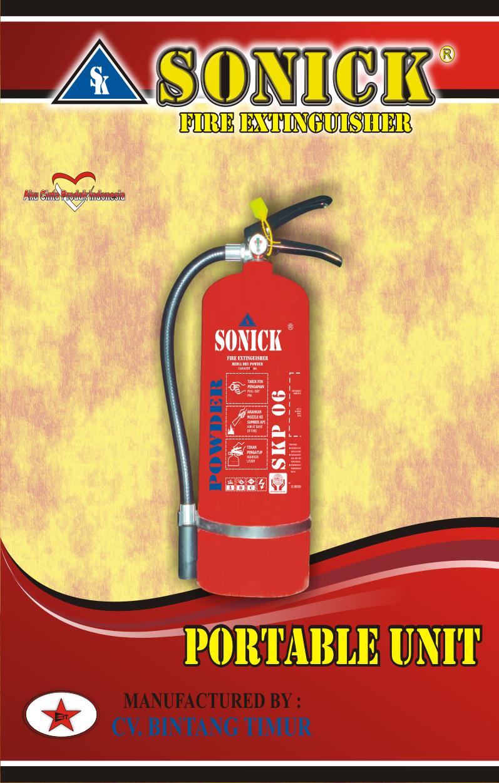 Tabung pemadam api murah powder 6 Kg