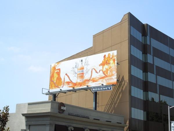 Svedka Vodka Orange Cream Pop billboard