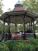 Myatts Fields Park Bandstand SE5 on vassallview.com