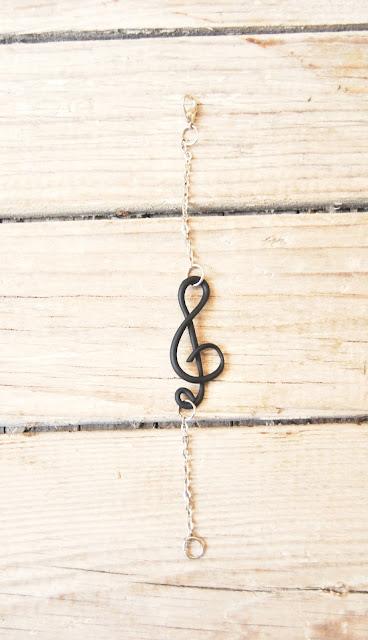 Pulsera musical arcilla polimérica
