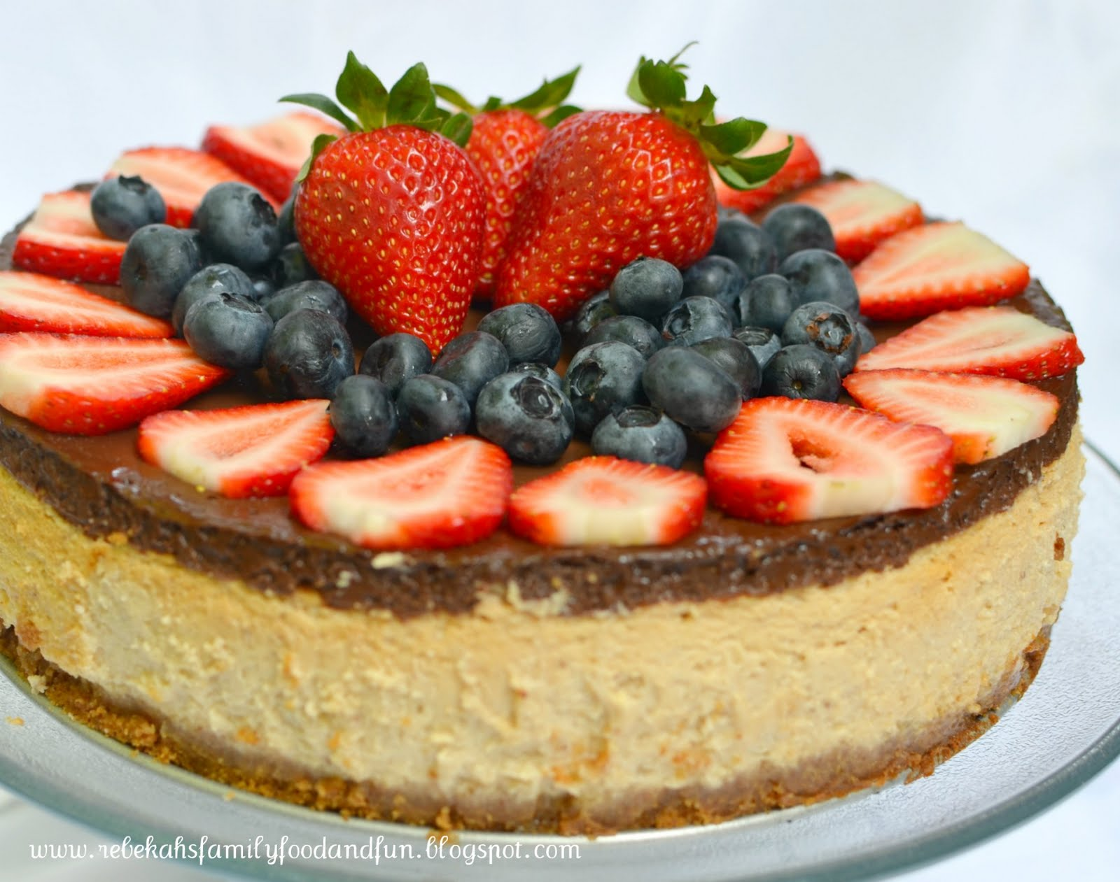 Family, Food, and Fun: Chocolate-Covered Strawberry Cheesecake