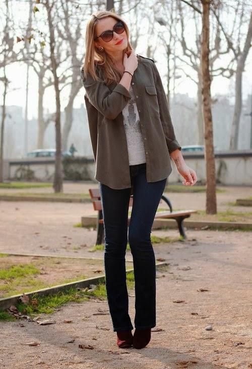 pantalones estilo fashion