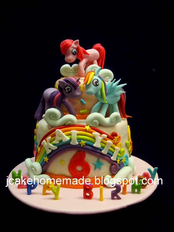 Pin Homemade Pinkie Pie My Little Pony Cake Cake on Pinterest