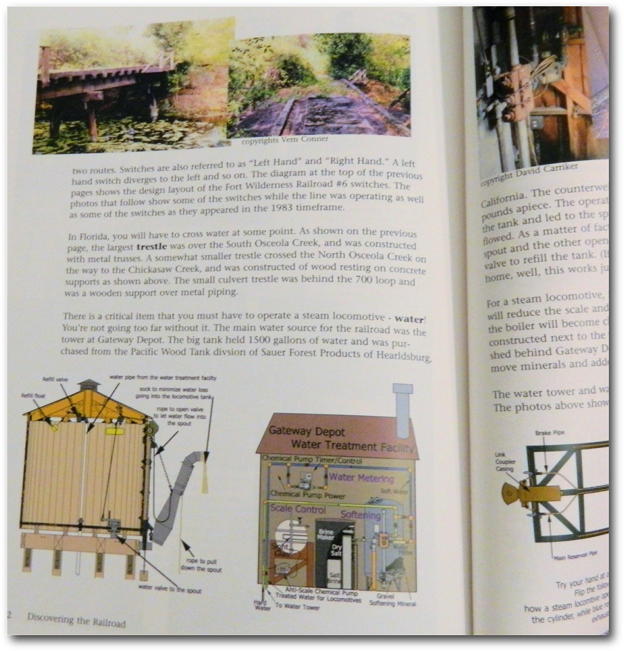 Imaginerding Disney Books History Links And More Fort Piping Layout Leaphart Spoke To Many Different Castmembers About The Difficulties Of Running Railroad On A Daily Basis He Was Able Dispel Several Myths
