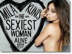 A mulher mais sexy de 2012