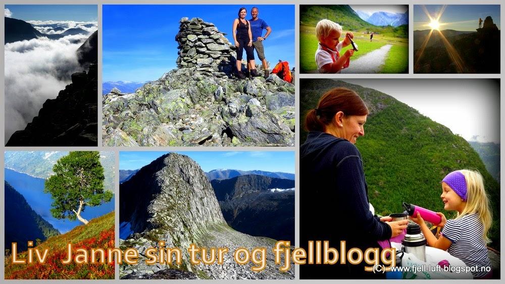 Liv Janne sin tur- og fjellblogg