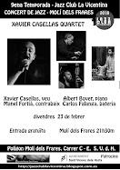 PROPERS CONCERTS: Xavier Casellas Quartet