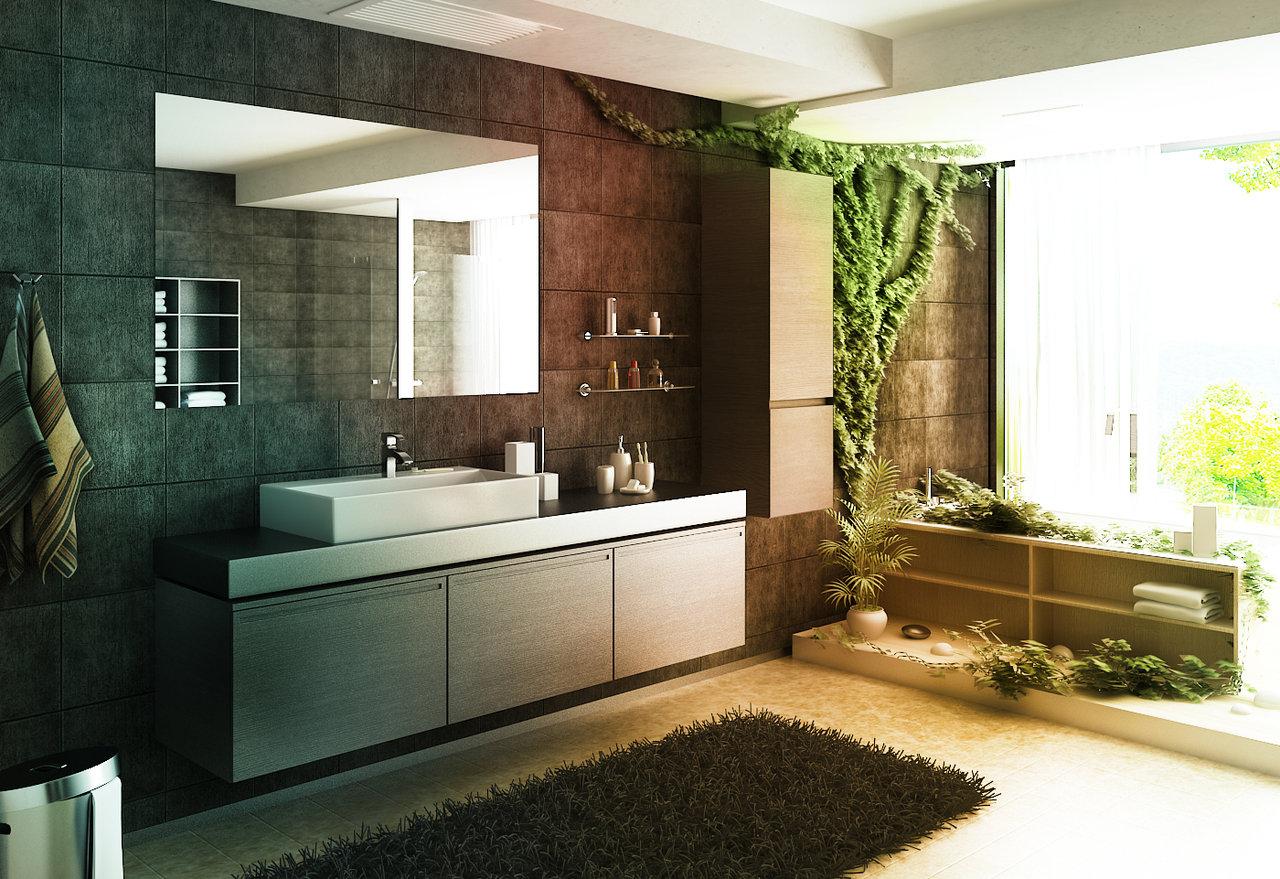 Interior Design Ideas For Bathroom + Pics - Luxury Home Decorating ...