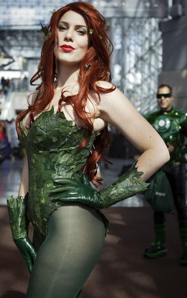 Poison Ivy Sexy Cosplay de la New York Comic Con 2013