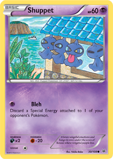 Shuppet Roaring Skies Pokemon Card