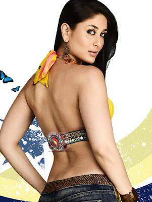 Kareena Kapoor Look Nice In Ra-One red saree Wallpaper