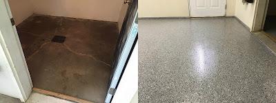 Floor Turned Beautiful with Epoxy