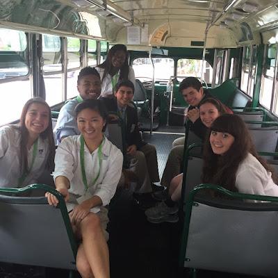 Montgomery Catholic Students attend Montgomery Bus Boycott 60th Anniversary Youth Summit 1