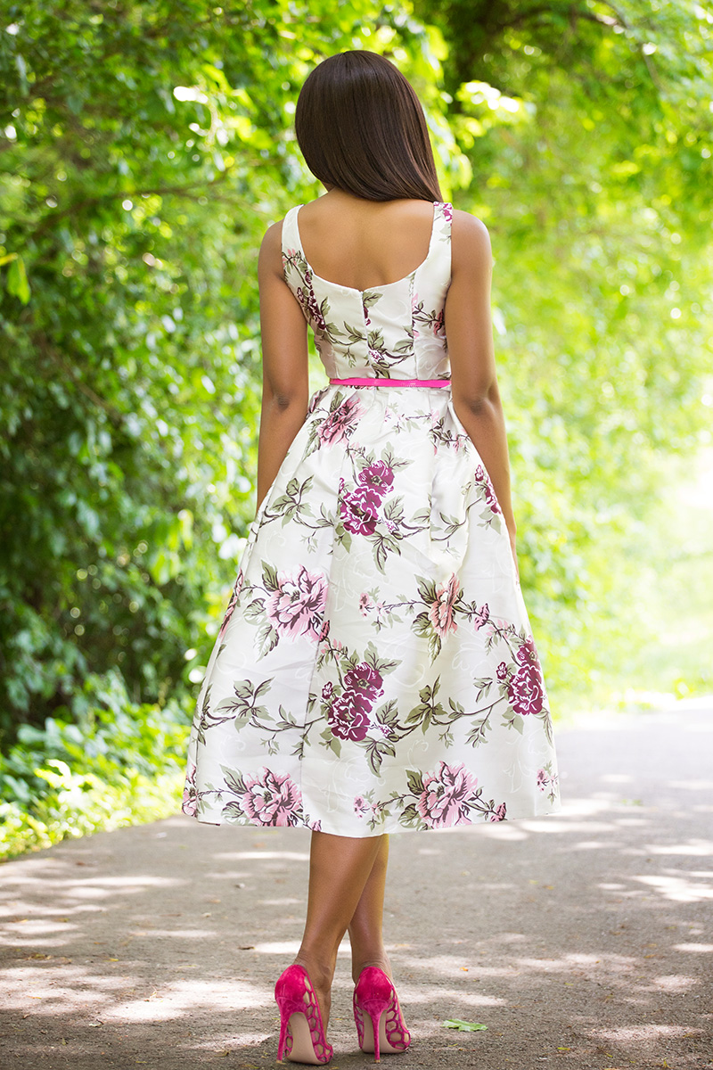 Chicwish my secret garden floral dress