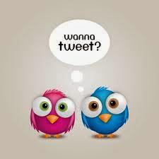 Follow and tweet me!