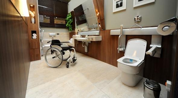 Banheiro Adaptado # Pia Para Banheiro Adaptado
