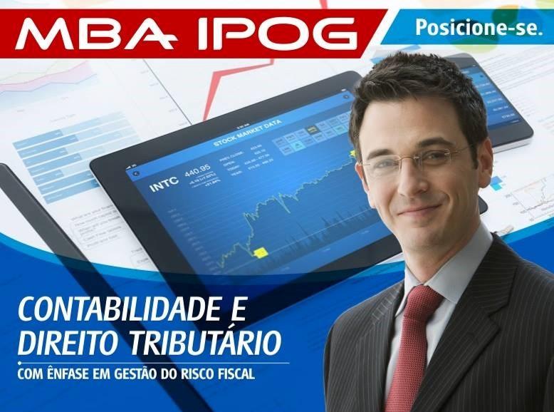 MBA EM CONTABILIDADE E DIREITO TRIBUTÁRIO