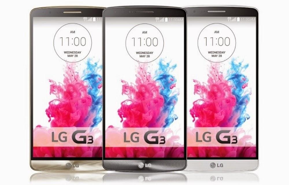 Harga Hp 4G LTE LG G3