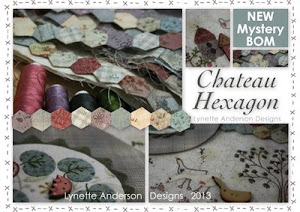 Im making Chateau Hexagon by Lynette Anderson