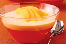 Postre Cremoso de Mango