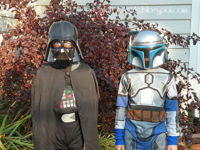 Darth Vader and Jango Fett Halloween Costumes