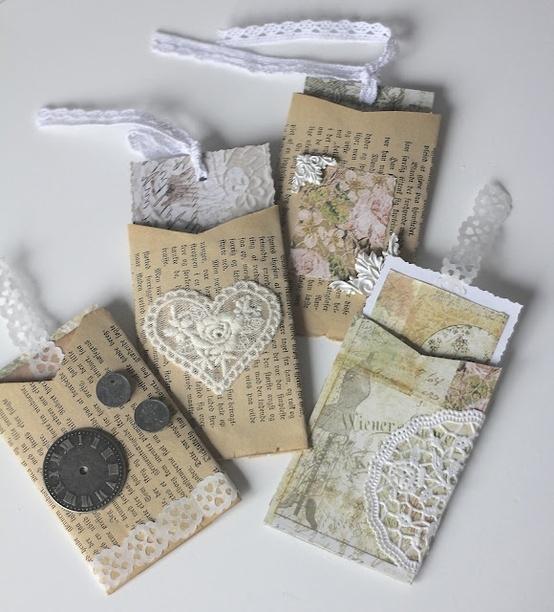 Portabiglietti da riciclo creativo rotoli di carta igienica