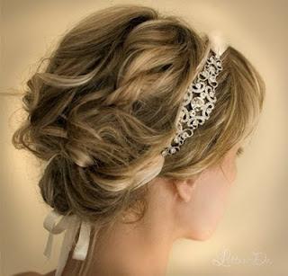 Moderne Braut-Frisuren dies 2013