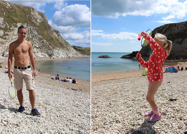 beach-badminton-lulworth-cove-summer-day-todaymywayblog