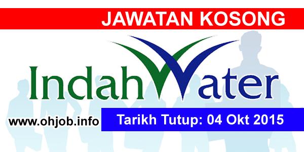 Jawatan Kerja Kosong Indah Water Konsortium Sdn Bhd logo www.ohjob.info oktober 2015