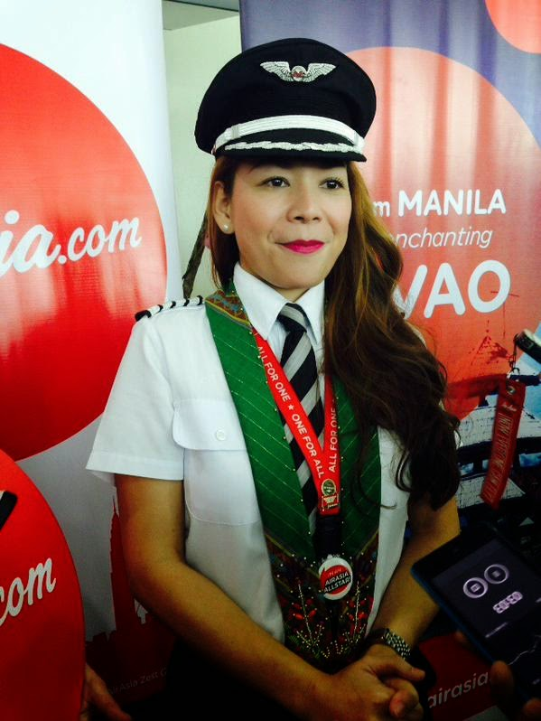 Meet Gisela Z. Bendong, the first woman pilot of AirAsia Philippines