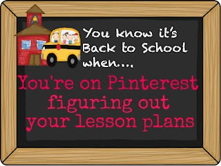 photo of: RainbowsWithinReach: You Know its Back to School When You're on Pinterest figuring out your lesson plans