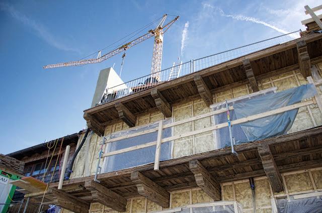 Baustelle Neubau, Hahnenkamm 17, 6370 Kitzbühel, Österreich, 12.10.2014