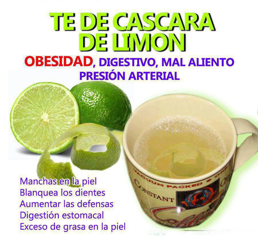 Como preparar t de c scara de lim n protege tu salud - Cascara de limon ...
