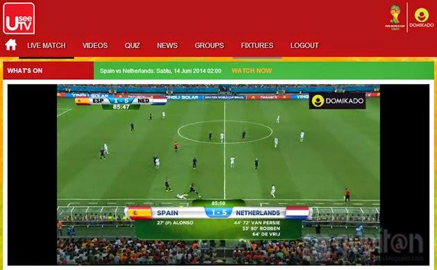 Cara Nonton Piala Dunia 2014 Melalui Komputer Gratis 2