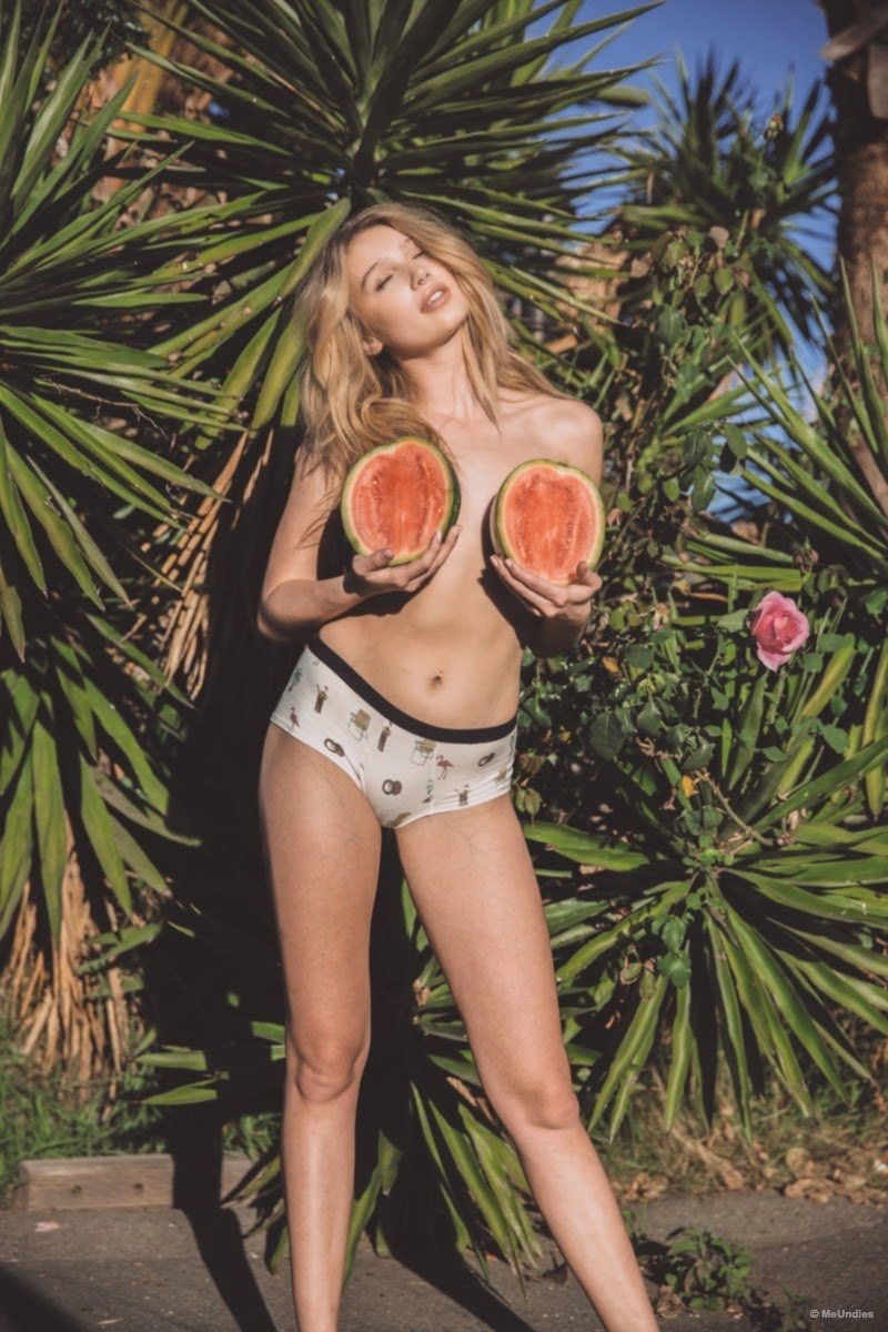 MeUndies March 2015 Lookbook featuring Cailin Russo