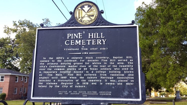 Why Pine Hill Haints chose their band name - Pine Hill Cemetery - Auburn AL